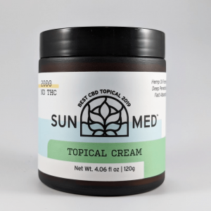 Sunmed CBD Topical Cream Broad Spectrum