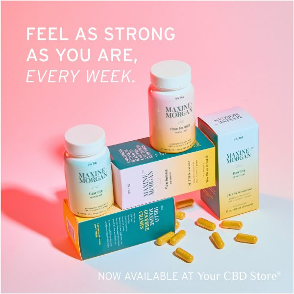 Sunmed Maxine & Morgan Flow Menstrual – A Sunmed CBD product designed by ladies, for ladies A proprietary combination of powerful, natural turmeric and ginger Two strengths are available to support your body naturally: Flow Formula and Flow Lite